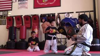 (MARTIAL ARTS TRAINING) 3 year old LT  - Better with time!  |  Master Vic Teran