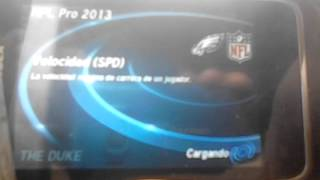 Juego Android Gama Baja//NFL Pro 2013
