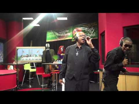 KCi and Jo Jo perform Life and If You Think Youre Lonely on the Tom Joyner Morning Show