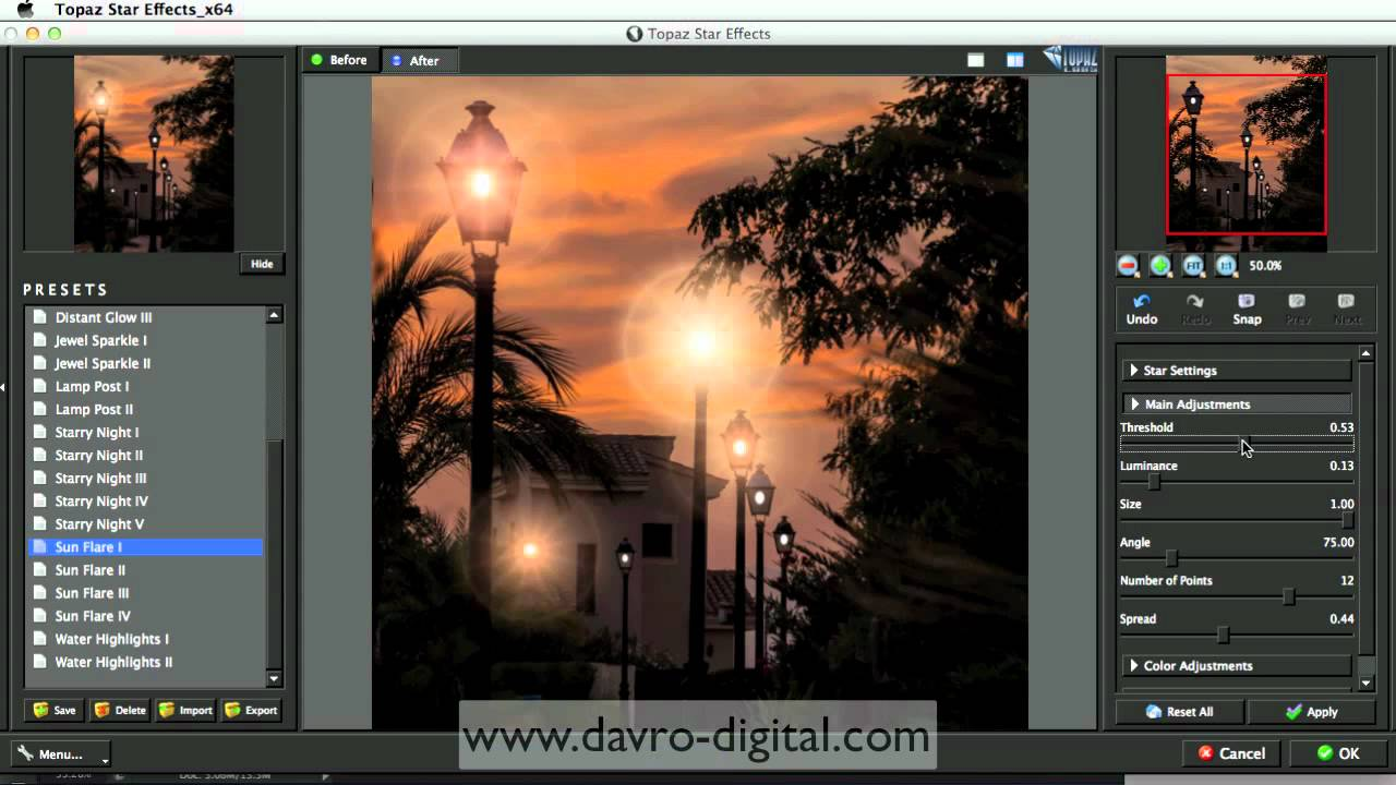 Topaz Labs Star Effects Photoshop Youtube