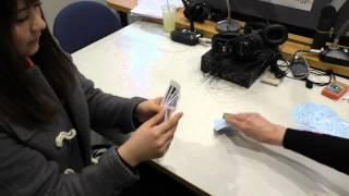 村重杏奈さんが収録の空き時間にロシアのトランプゲーム「ドュラーク」...