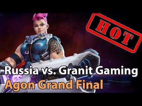 ► Heroes of the Storm: Granit Gaming vs. Team Russia - Agon League Grand Final