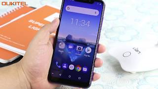 OUKITEL C12 pro Global first hands on- 6.18 inch notch display