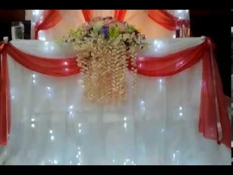 оформление Столов На Свадьбу в Самаре. - YouTube