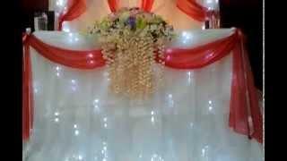 Стол жениха и невесты Хатира Мустафаева 8 923 319 01 87