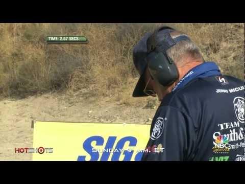 Revolver vs. Race Gun - Jerry Miculek at World Speed Shooting Championships - Hot Shots TV
