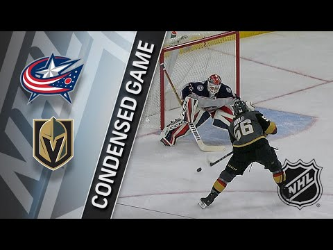 01/23/18 Condensed Game: Blue Jackets @ Golden Knights