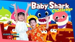 Cleon & Claire Baby Shark Challenge