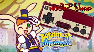 Pop'n Music 20 Fantasia Gameplay feat. 8-bit Music Swap