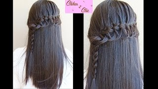 Lace Loop Braid - French Lace Loop Braid | Chikas Chic