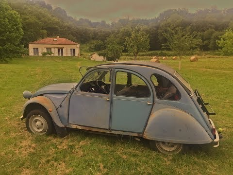 Here Are The Modifications I Made To My 2cv For The Road Trip