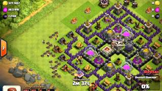 Clash Of Clans: Silver Barch LOOT!!! 300K Gold One Raid!