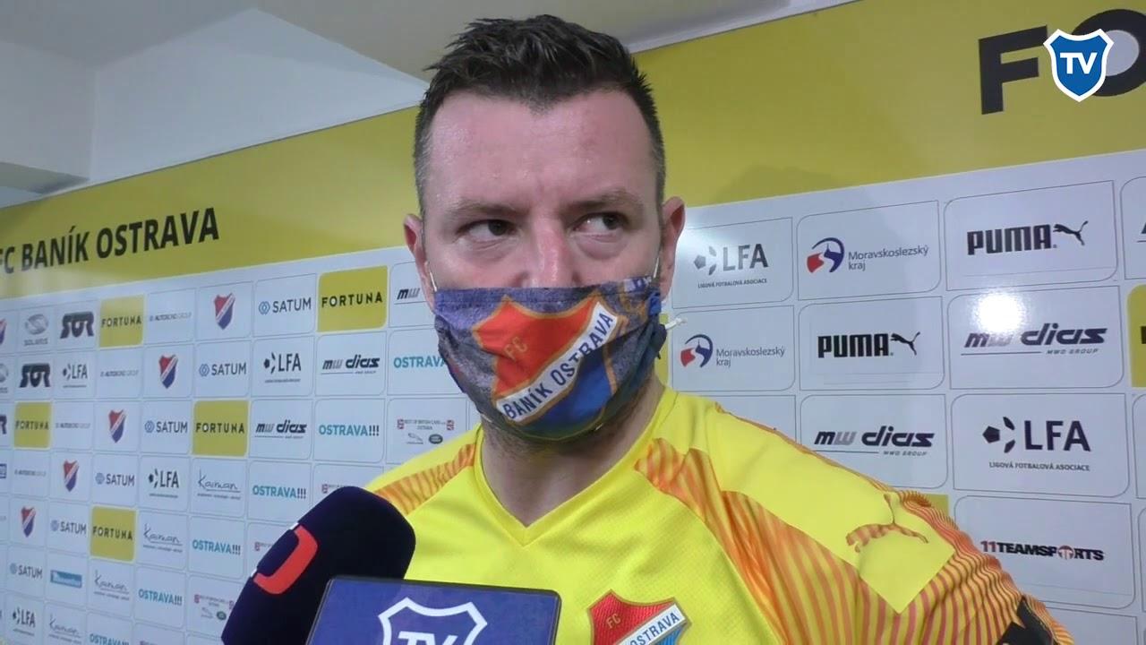 OHLASY/ Jan Laštůvka po Slavii (0:1)