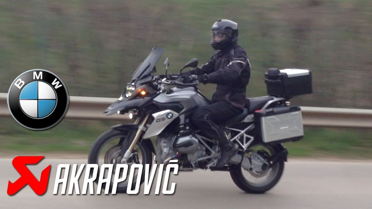 bmw r 1200 gs lc 2013 akrapovic sport exhaust sound vs. Black Bedroom Furniture Sets. Home Design Ideas