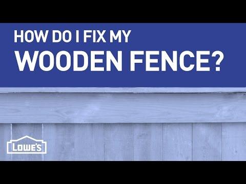 How Do I Fix My Wooden Fence? | DIY Basics
