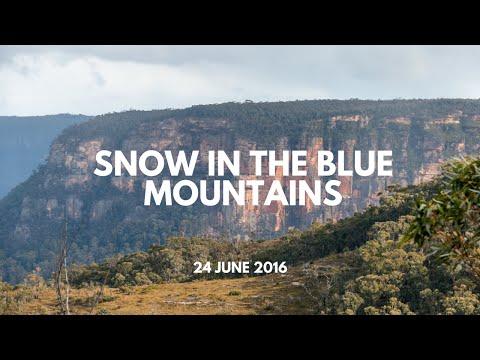 Blue Mountains Snow 2016