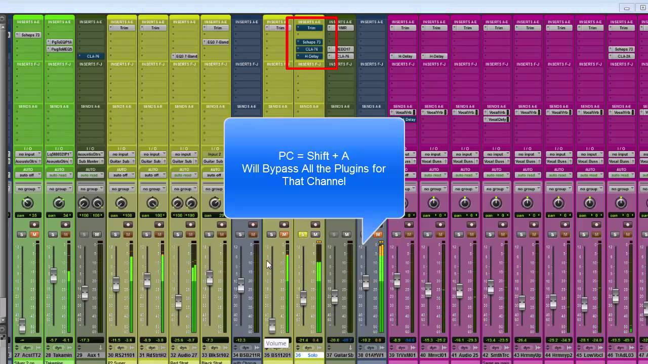 pro tools 11 plugin bypass shortcut youtube. Black Bedroom Furniture Sets. Home Design Ideas