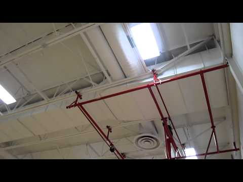 New South Sioux City Middle School Gym Lights