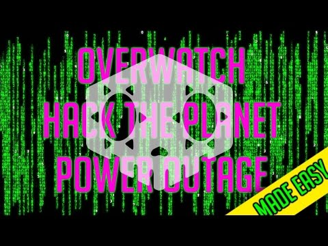 OVERWATCH: Hack The Planet + Power Outage Trophy [MADE EASY]