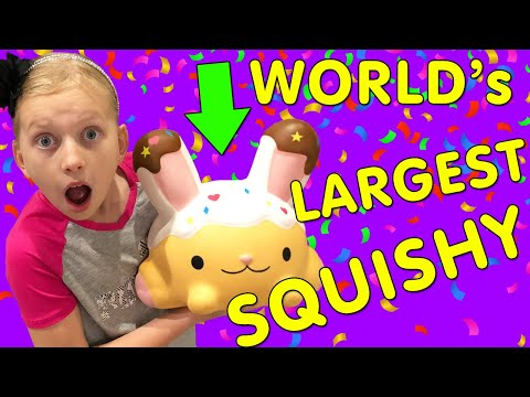 World's Largest Squishy!!!  Smooshy Mushy Toys