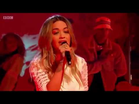 Rita Ora performs