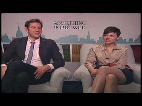 John Krasinski interview - SOMETHING BORROWED - Ginnifer Goodwin!