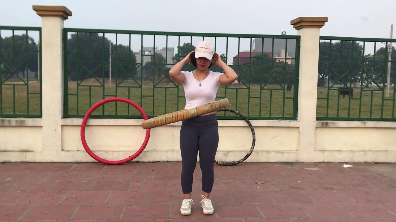 Hướng dẫn lắc vòng chuẩn đúng cách để giảm mỡ bụng và vòng eo / vòng 2 Ngọc Trinh / My Nguyen