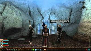 Dragon Age 2: Anders is being romantic and kinky [Mark of the Assassin DLC]