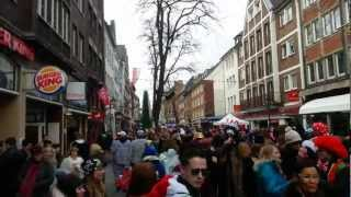 So FEIERT man Karneval in Düsseldorf HD