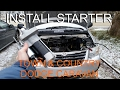 Replace Starter - Chrysler Town & Country / Dodge Caravan