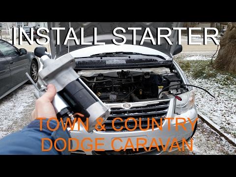 Replace Starter – Chrysler Town & Country / Dodge Caravan