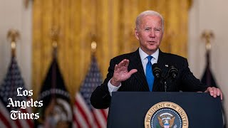 Ahead of holidays, Biden tries to untangle supply chain mess