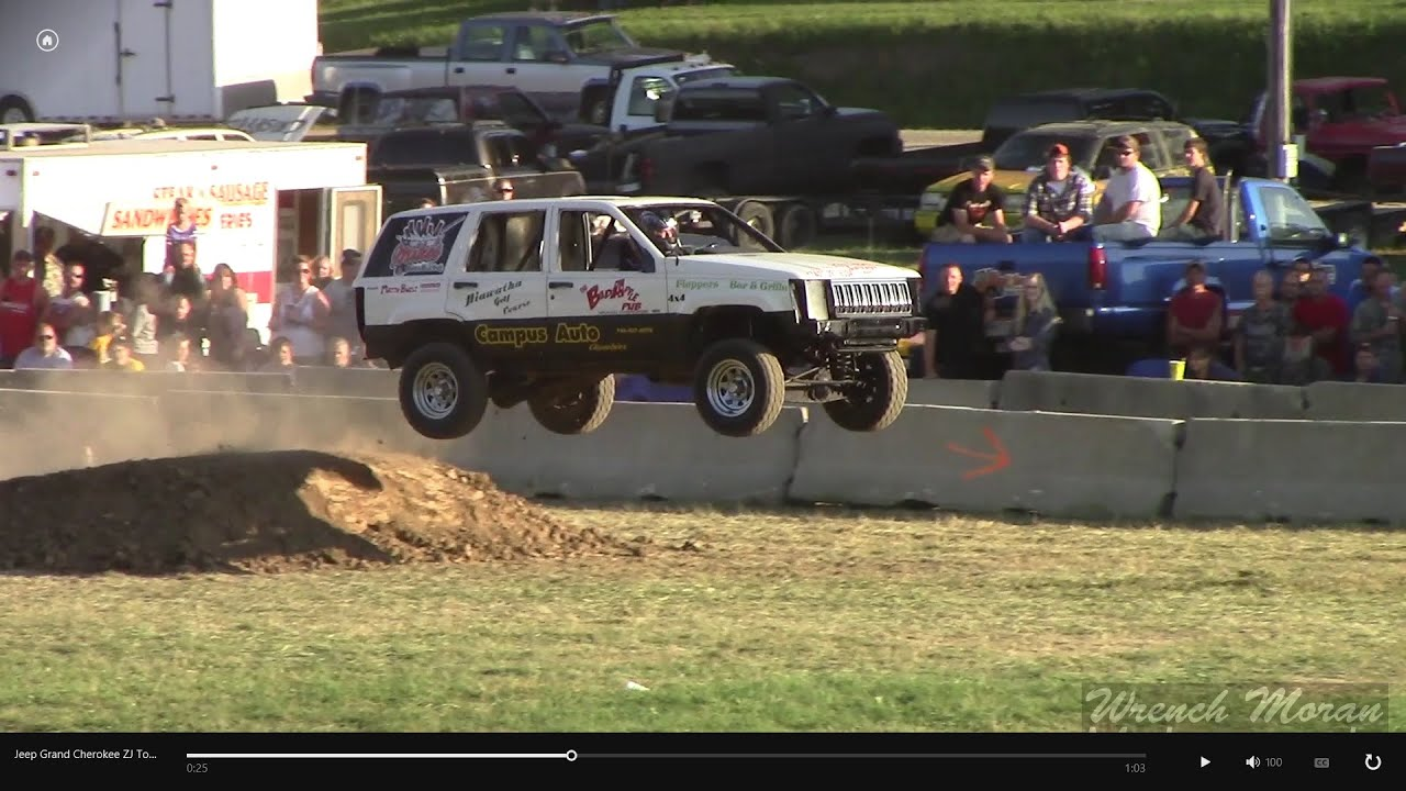 Jeep grand cherokee zj tough truck racing