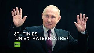 Putin rechaza su origen alienígena