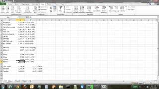 How to Pull in Data from a Website into an Excel Spreadsheet