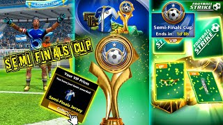 Football Strike SEMI FINALS CUP WITH VIP PASS 2 VIP bags New Jersey CRAZY SHOTS