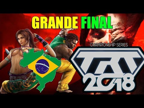 Brasileiros Também Jogam Tekken No Competitivo - Grande Final Tekken 7 TRETA 2018