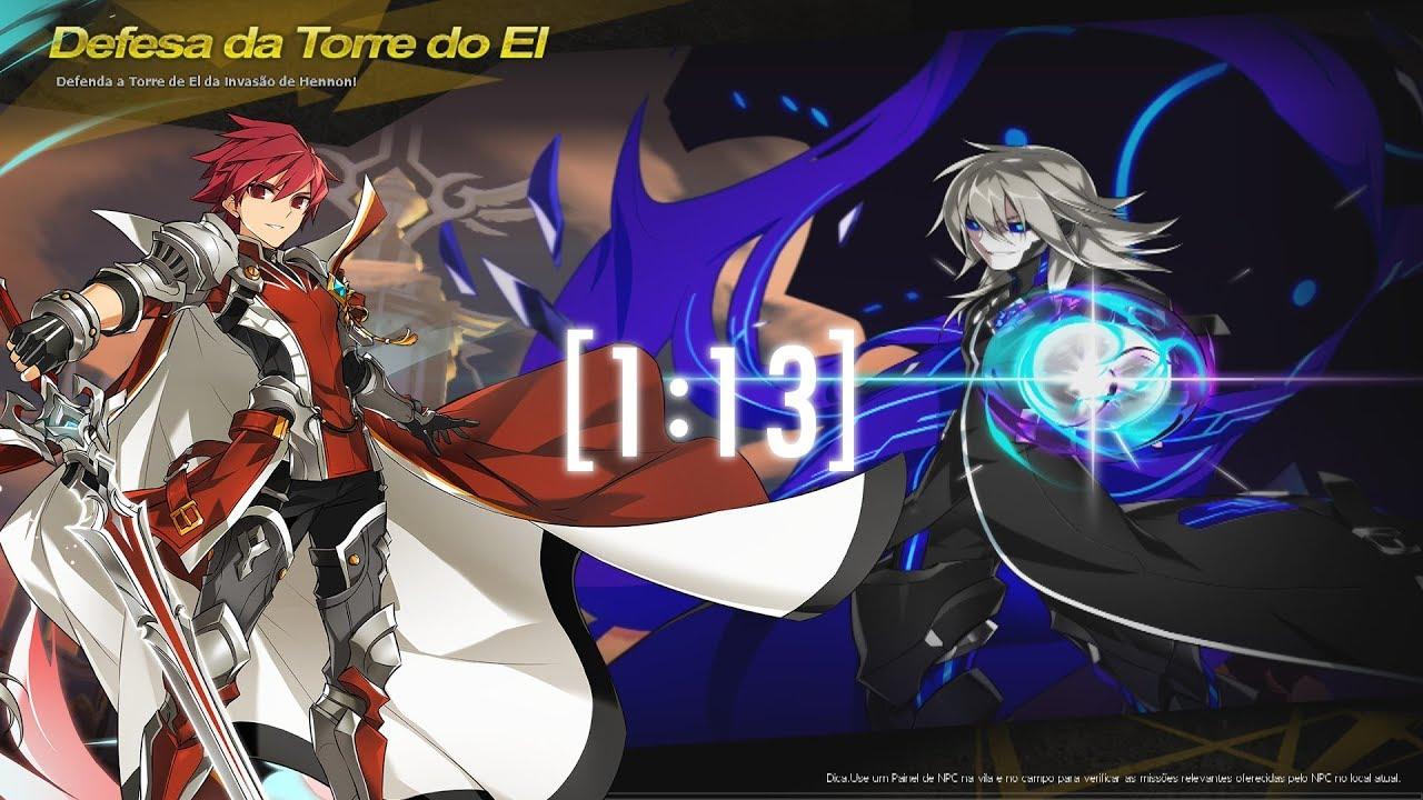 Elsword Br Knight Emperor El Tower Defense 113 Youtube