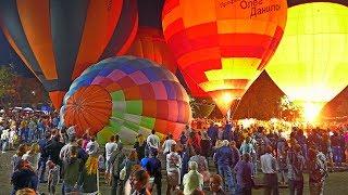 Световое шоу воздушных шаров (видео В.Воробьева)