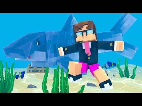 Minecraft - MEGALODON - O MAIOR TUBARÃO DO MUNDO ! - PARQUE DOS DINOSSAUROS  ‹ LOKI ›