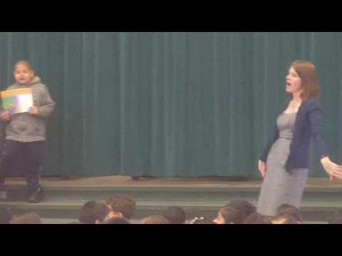 Samuel Kennedy elementary school ,AWARDS For first graders