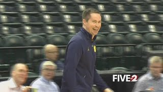 Former WSU Coach happy at Michigan