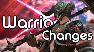 Warrior Changes | FFXIV Endwalker Media Tour