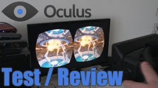 OCULUS RIFT - Test / Review - Angespielt - Developer Kit | Virtual Reality Brille [Deutsch]