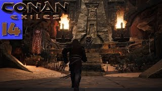 CONAN EXILES | When A Shay Squad Comes Knocking & The Hunt for An Arch Priest! | S4E14