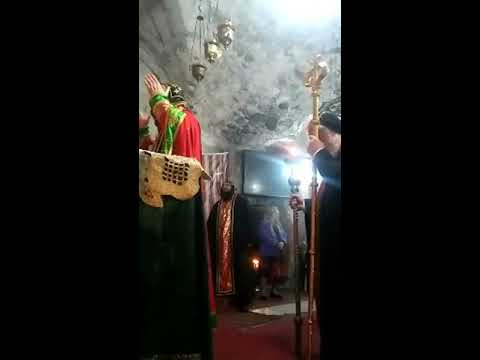 Syriac Orthodox Church Jerusalem Mass 10.12.2017