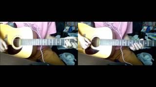 説明 LOVE PSYCHEDELICOさんのPlace Of Loveをアコースティックギターで...