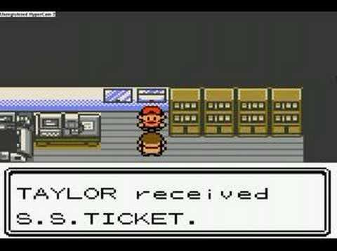 how to get ss ticket in pokemon crystal
