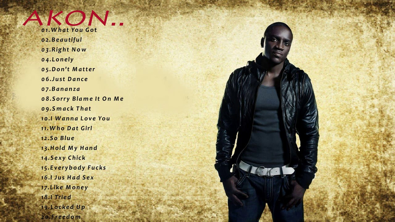 Akon The Best Of Full Album-Akon Best Songs 2018