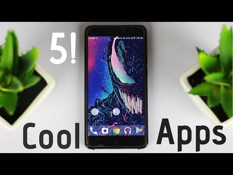 Top 5 Cool Android Apps of 2018 | Free Android Apps of 2018😂